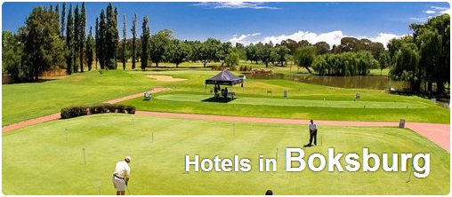 Hotels in Boksburg